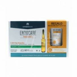 ENDOCARE RADIANCE C OIL FREE 30 AMPOULES + GIFT PROMO