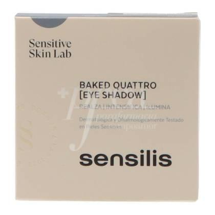 SENSILIS BAKED QUATTRO EYE SHADOW PALETTE 01