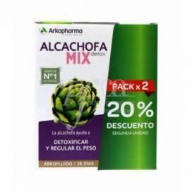 ARKOFLUIDO ALCACHOFRA MIX DETOX 2X 280ML PROMO