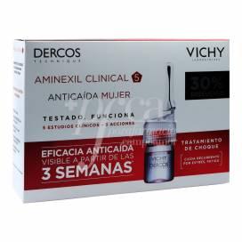 DERCOS AMINEXIL CLINICAL 5 MULHER 21 AMPOLAS