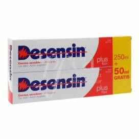 DESENSIN PLUS PASTA DENTAL 250+50 ML PROMO