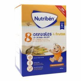 NUTRIBEN 8 CEREAIS E MEL 4 FRUTAS 600 G