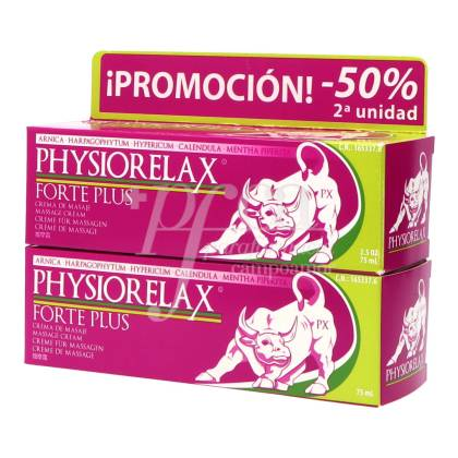 PHYSIORELAX FORTE 2X75 ML PROMO