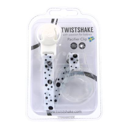 TWISTSHAKE WHITE PACIFIER CHAIN