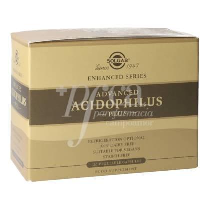ACIDOPHILUS PLUS ADVANCED 120 CAPSULES SOLGAR