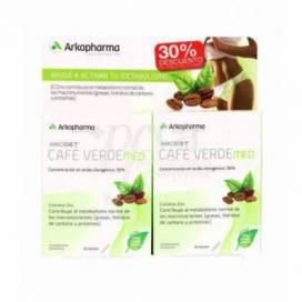 ARKODIET GREEN COFFEE MED 2X30 CAPSULES PROMO