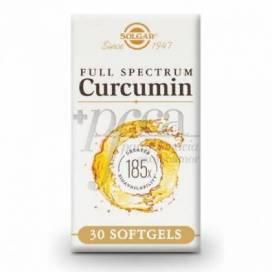 FULL SPECTRUM CURCUMIN 30 CAPSULES SOLGAR