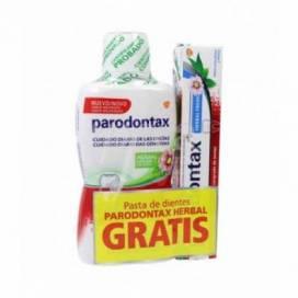 PARODONTAX COLUTÓRIO 500 ML + PASTA DE DENTES 75 ML PROMO