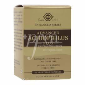 ADVANCED ACIDOPHILUS PLUS 60 CAPSULES SOLGAR