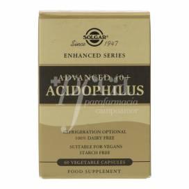 ADVANCED 40+ ACIDOPHILUS 60 CÁPSULAS SOLGAR
