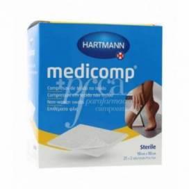 MEDICOMP KOMPRESSEN 10X10 CM 50 EINHEITEN HARTMANN