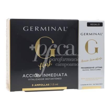 GERMINAL IMMEDIATE ACTION 5 AMPOULES + DEEP ACTION 5 AMPOULES PREBIOTICS GIFT PROMO