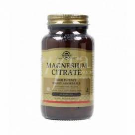 MAGNESIUM CITRATE 60 TABLETS SOLGAR
