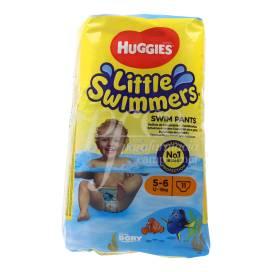 HUGGIES LITTLE SWIMMERS GR 5-6 12-18KG 11 EINHEITEN