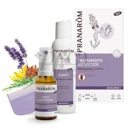 ANTI-LICE TREATMENT SHAMPOO + SPRAY + LICE COMB PRANAROM