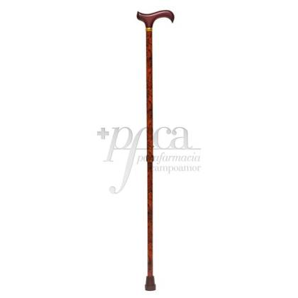 EXTENDABLE WALKING STICK MAHOGANY DERBY GRIP REF. 801720