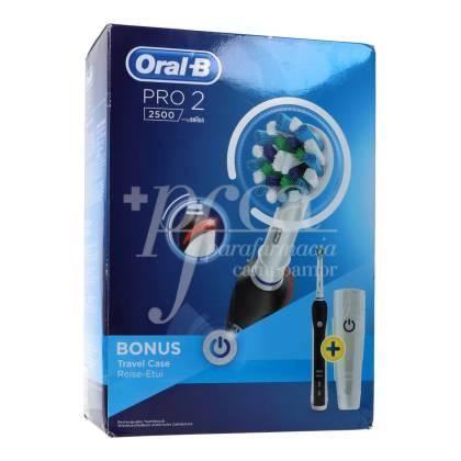 ORAL B ELECTRONIC TOOTHBRUSH PRO 2 2500 BONUS BRAUN
