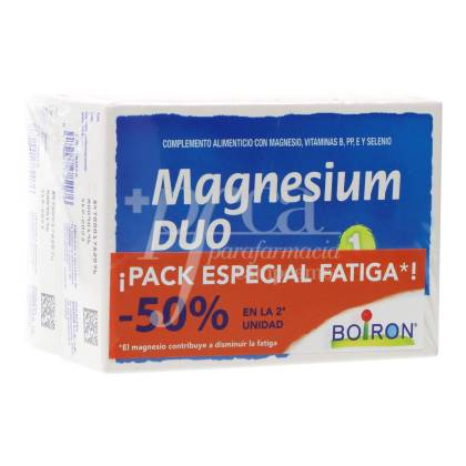 MAGNESIUM DUO 2X80 TABLETS PROMO