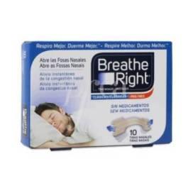 BREATHE RIGHT NASENSTREIFEN GR-KLEIN-MED 10 EINH