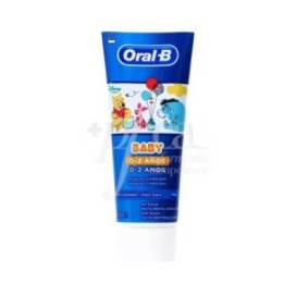 ORAL B BABY TOOTHPASTE 0-2 YEARS WINNIE THE POOH 75 ML