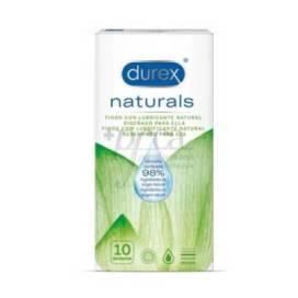 DUREX NATURALS 10 UNITS
