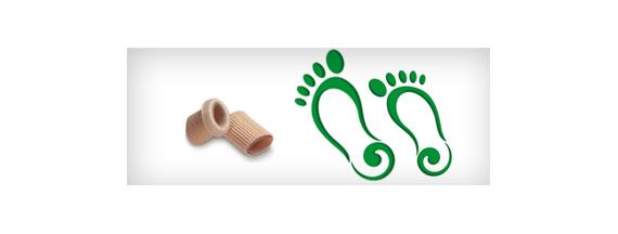 Einlegesohlen und Fuß Riemen