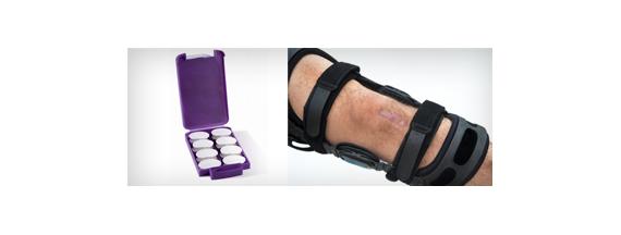 Orthesen für Arme und Beine