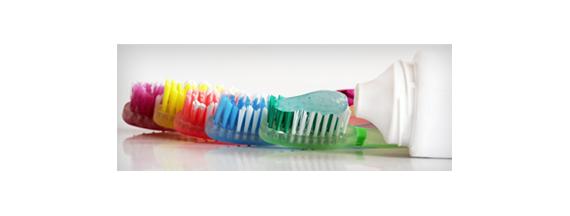 Pastas de dientes y colutorios