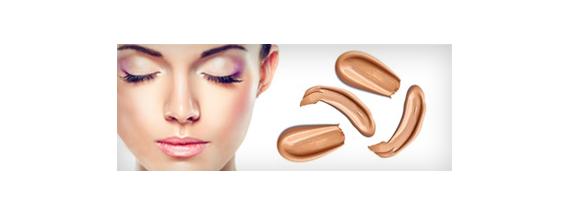 Gesichts Make-up im Emulsion