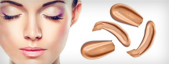 Maquillajes faciales en emulsión