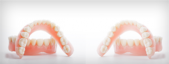 Cepillos para prótesis dentales