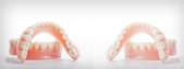 Denture brushes