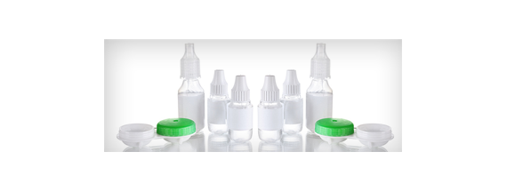 Soluções para lentes de contato