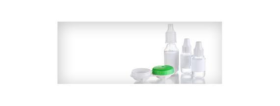 Produtos para lentes de contato