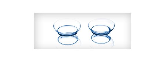 Lentes de contato gelatinosas
