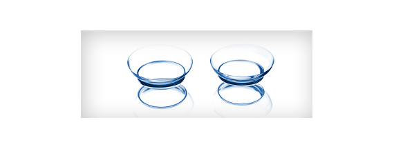 Rigid contact lenses