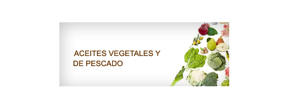 Vegetable and fish oils