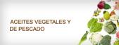 Óleos vegetais e de peixes