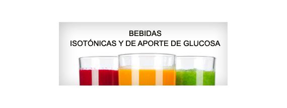 Bebidas isotónicas y de glucosa