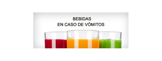 Bebidas en caso de vómitos