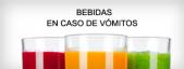 Bebidas para os vômitos