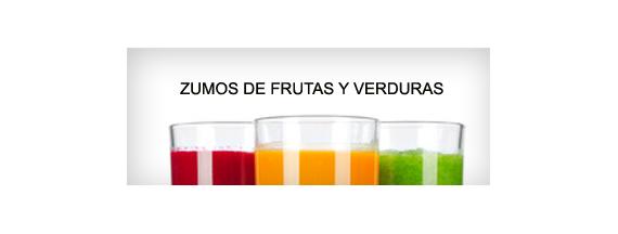 Sucos de frutas e verduras