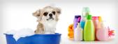 Shampoos und Lotionen