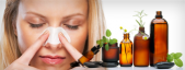 Respiration and aromatherapy