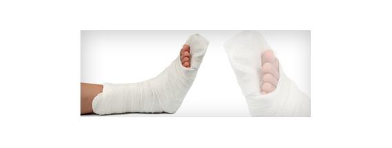 Immobilisierung Bandagen