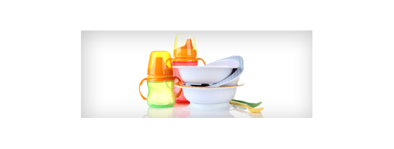 Vajilla de alimentación infantil