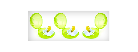 Pacifier hains and cases
