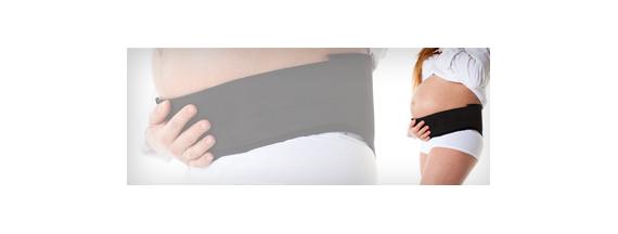Faixas para gestantes e pós parto