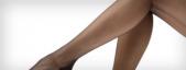 Meia-calça: compressão leve