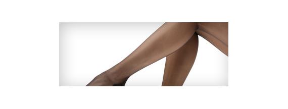 Meia-calça: compressão muito forte
